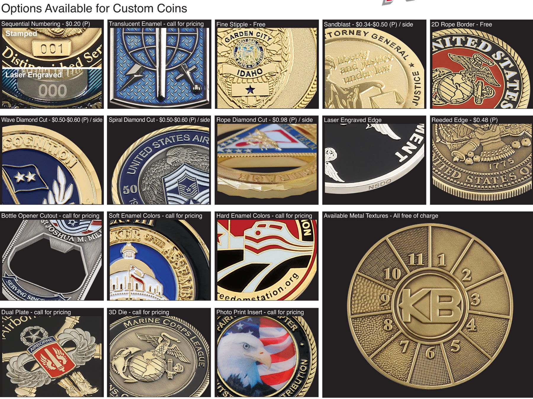 ASI and PPAI Supplier - Custom pins, coins, key-chains, patches, PVC